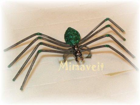 Spinnenring grün2