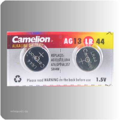 2 x Batterie AG13 -- Alkaline --