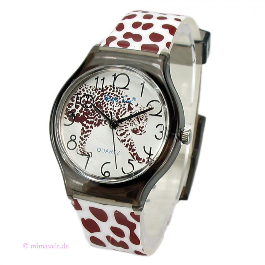 Armbanduhr Uhr im Leo-Look