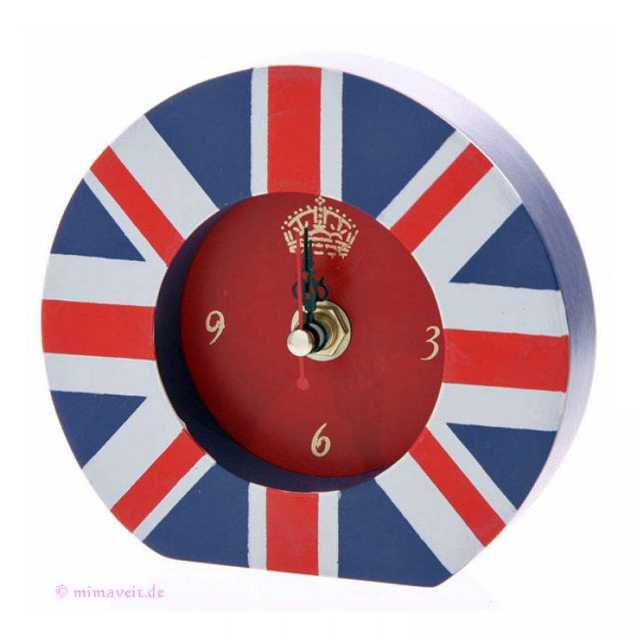 Standuhr Uhr Union Jack