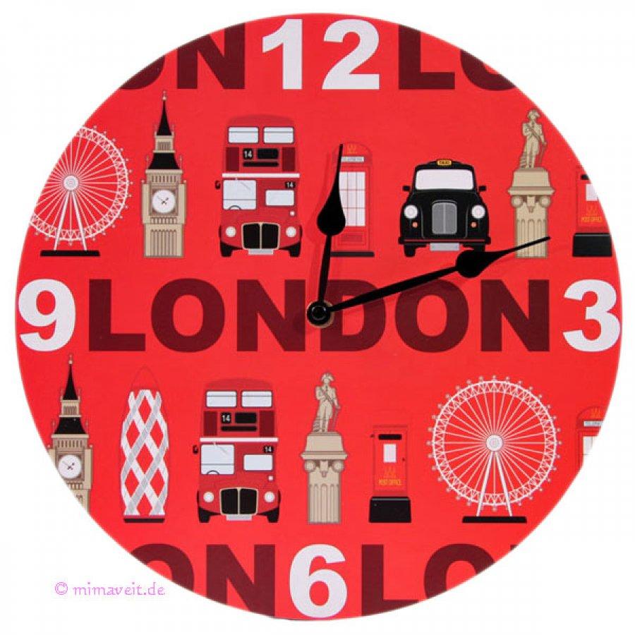 Wanduhr London Sehenswürdigkeiten
