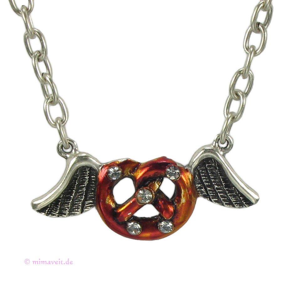 Halskette Breze mit Flügel