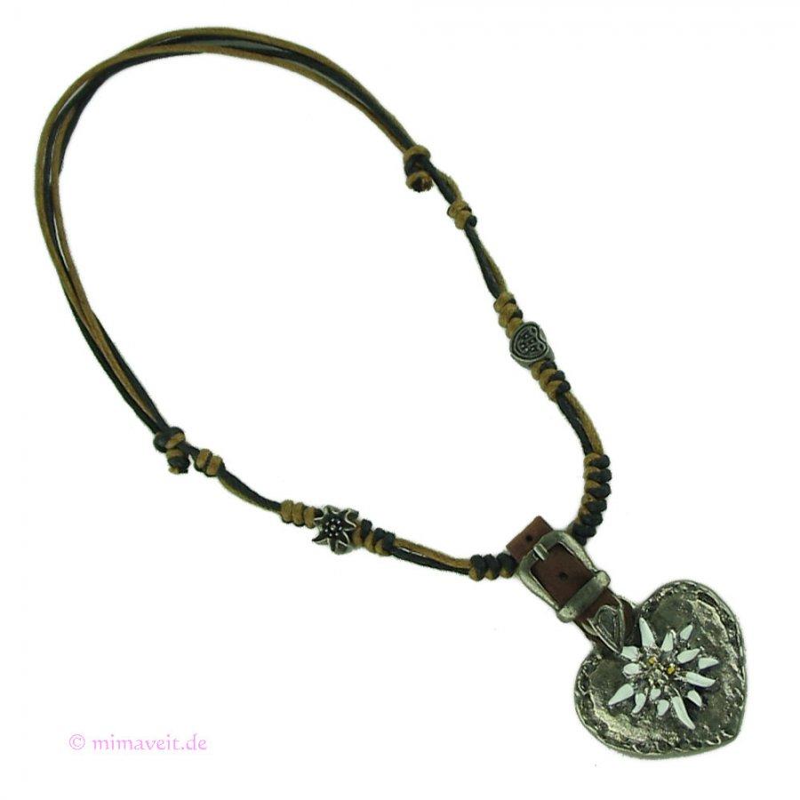 Trachten Halskette Sennerin