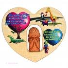 Bild Himmlische Elemente Herz mit Schutzengel und Tieren
