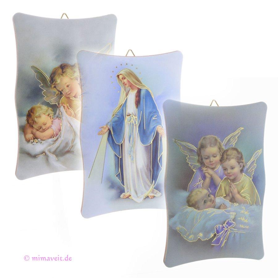 Bild mit Schutzengel und Kind, Maria Empfängnis
