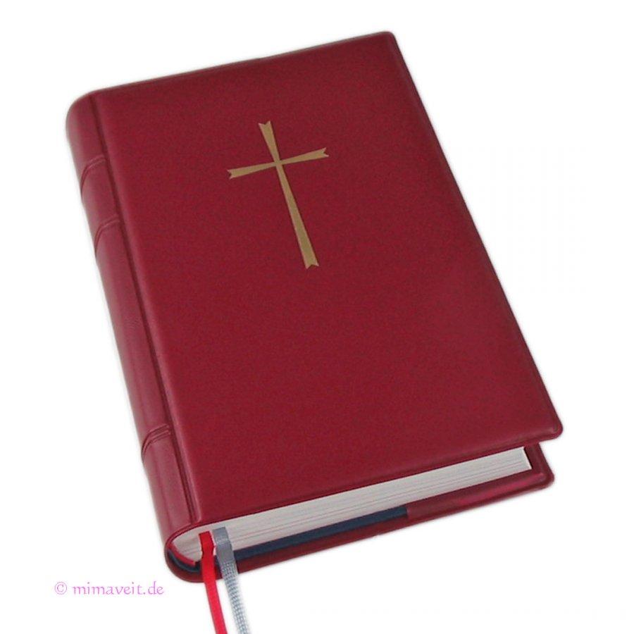 Gotteslobhülle rot aus Kunststoff für das neue Gotteslob