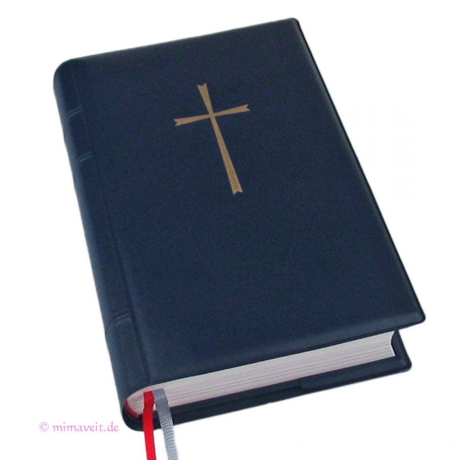 Gotteslob Hülle blau aus Kunststoff für das neue Gebetbuch