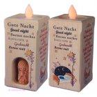 Gebetsleuchter Nachtlich mit Abendgebeten und LED-Licht