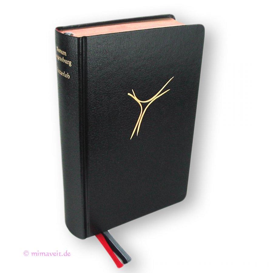 Gotteslob Hülle Gotteslobhülle Kunst Leder Rot Mit Kreuz In Gold Gebetbuch Bücherzubehör Buchhülle