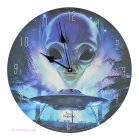 Wanduhr Alien Landing Außerirdischer mit Ufo