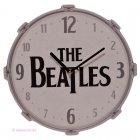Wanduhr The Beatles Trommel