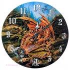 Wanduhr Dragons of the Runering, Drache