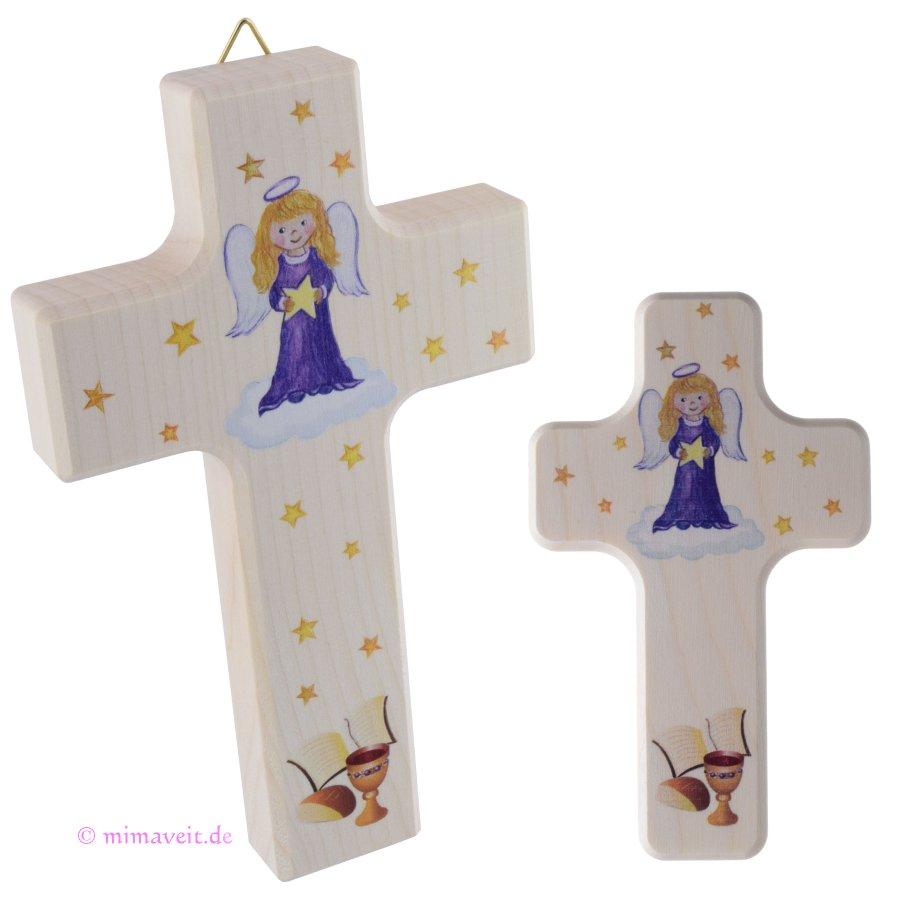 Kreuz für Kinder zur Taufe, Geburt, Kommunion